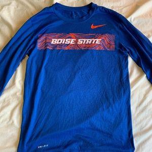 Boise State Men's long sleeve